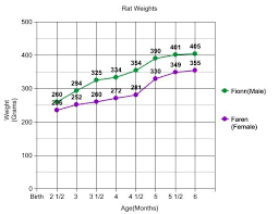 Weight Chart For Rats Rats Weight Charts