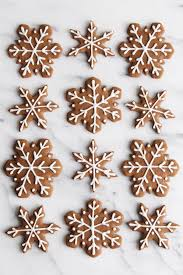 christmas snowflake cookies. Exellent Cookies This Classic Gingerbread Cookie Recipe Makes Soft U0026 Chewy Cookies Full Of  Delicious Festive Flavor And Christmas Snowflake Cookies