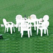 plastic outdoor dining table plastic outdoor dining chairs excellent amazing white plastic patio chairs and white plastic outdoor dining table
