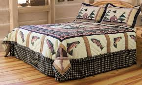 duvet covers 33 incredible inspiration fishing themed bedding quilts in king full queen and twin quilt