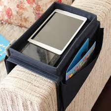 6 pockets sofa handrail couch armrest arm rest organizer remote control holder bag