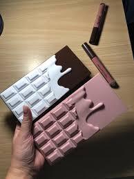 zestaw dla kobiety makeup revolution i heart chocolate make up set chocolate vault