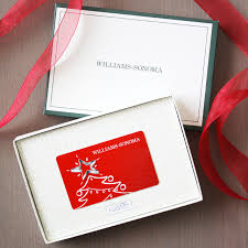 williams sonoma gift card giveaway