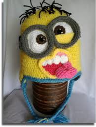 Minion Hat Crochet Pattern Custom Ravelry Crazy Minion Hat Pattern By Mistybelle Crochet