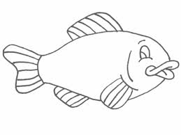 Fish Coloring Pages For Toddlers Coloringstar