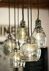 cer pendant lights over island hand blown glass 8 light pendant ceiling pottery barn island home