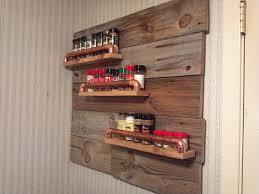 wooden pallet made wall mounted e rack idea