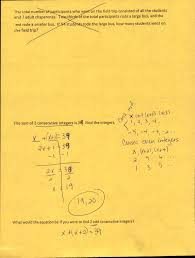 multi step equations for word problems notes1 2