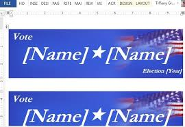 political campaign bumper stickers how to make political campaign bumper stickers in word