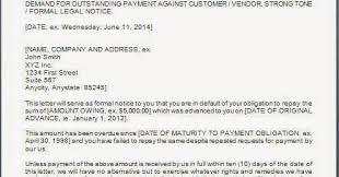 Payment Demand Letter Format JPG