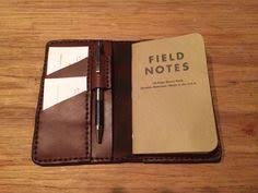 field notes wallet cover with pen loop by 4713leathernlovelies 54 50 leather