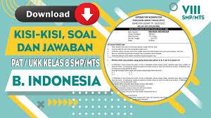 Soal uts bahasa sunda ini sudah dilengkapi beserta kunci jawaban. Download Kisi Kisi Soal Dan Jawaban Pat Ukk Mapel Bahasa Sunda Kelas 8 Mts Semester 2 Lengkap Youtube