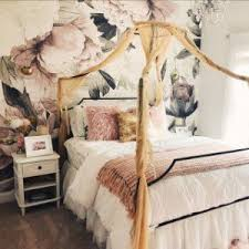 Maison Canopy Bed in 2019 | Sally | Glam bedding, Girl bedroom ...