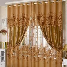 Window Curtain Living Room Amazoncom Edal Romantic Modern Floral Peony Tulle Living Room
