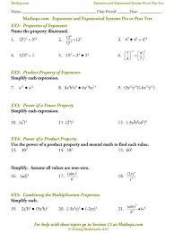 Exponents And Exponential Functions Depiction Elegant Evaluating ...