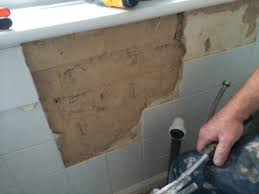 preparing walls for tiling removing