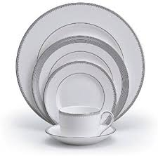 vera wang dinnerware. Brilliant Dinnerware Vera Wang Wedgwood Grosgrain 5Piece Place Setting Service For 1 Inside Dinnerware