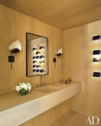 powder room furniture. an aspen colorado powder room by atelier am is lit a pair of furniture p