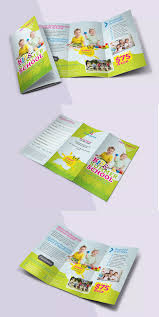 Summer School Trifold Brochure Template Psd A4 Us Letter