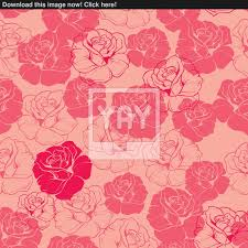 vector of seamless pink and red fl vector pattern tile background or texture with roses