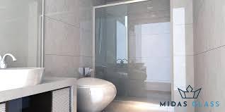 sliding shower screen midas glass contractor singapore
