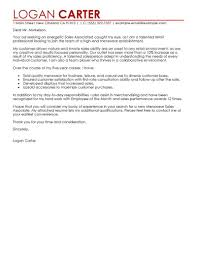 Cover Letter Examples For Sales Associate Cover Letter Accounting Associate Sample Customer Service