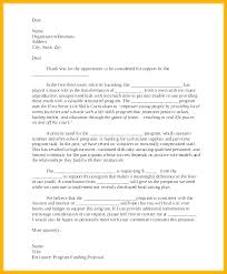 6 Grant Rejection Letters Free Sample Example Format Letter