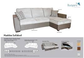sofas maddox sofa bed with chaise storage 18 of 27 save 10