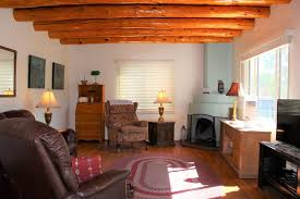 3 bedroom home with lovely vigas and wood floors 3 5 miles to santa fe plaza