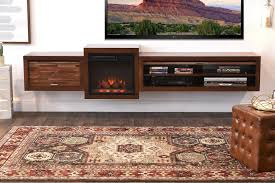 electric wall mounted floating stand with fireplace eco geo mocha woodwaves rustic modular wall minimal mid century modern hanging