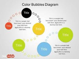 Free Color Bubble Diagrams For Powerpoint Template Bubble