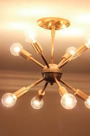 New Sputnik Chandelier Mid Century Style Lighting Source Erin Spain