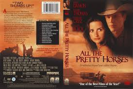 all the pretty horses r movie dvd cd label dvd cover  all the pretty horses 2000 r1 movie dvd cd label dvd cover front cover