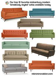 amazing furniture archives retro renovation and mid century modern sofa brilliant mid century sofa