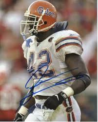 jevon kearse hand size jevon kearse signed autographed florida gators 8x10 inch photo