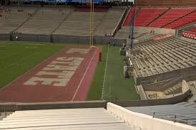 Carter Finley Stadium Seating Chart Rows Carter Finley Stadium Section 1 Rateyourseats Com