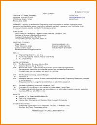 Cover Letter For Engineering Resume Electrical Engineer Resume Lovely Fresh Manufacturing Test 33