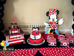 Furuix Mickey Mouse Birthday Party Decorations White Red Black