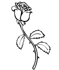 Small Picture Free Printable Roses Coloring Pages For Kids throughout Roses
