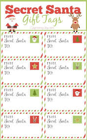 Secret Santa Gift Tags and Exchange Tips. Office ChristmasChristmas ...