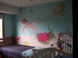 mural ideas for girls underwater room