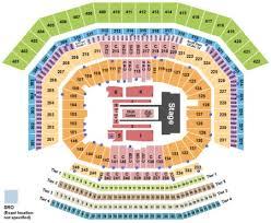 Levis Stadium Tickets And Levis Stadium Seating Charts