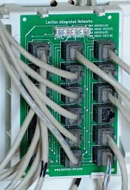 voip my house how to quickly distribute a voip phone line to 4 line phone distribution via rj45 distribution panel