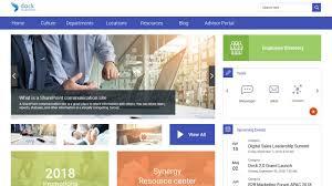 Sharepoint Portal Design Best Practices Dock 365s Intranet Portal