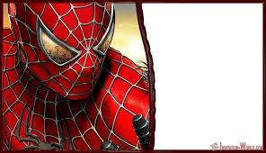 Spiderman Birthday Invitation Templates Free 11 Superheroes Invitations Templates Youd Go Crazy For