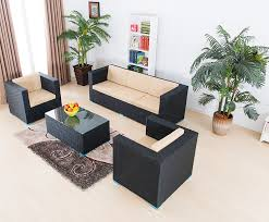 rattan living room furniture. latest cheap high quality arab floor sofa design with coffee table/ rattan arabic living room furniture