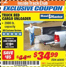 toolbox truck bed cargo unloader