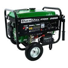 duromax watt dual fuel propane gas powered electric start duromax 4 850 watt dual fuel propane gas powered electric start portable generator xp4850eh the home depot