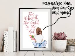 Printable Pdf She Believed She Could So She Did Passion Press