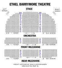 Cort Theater Seating Chart Gershwin Theater Seating Chart View New Hirschfeld Theater